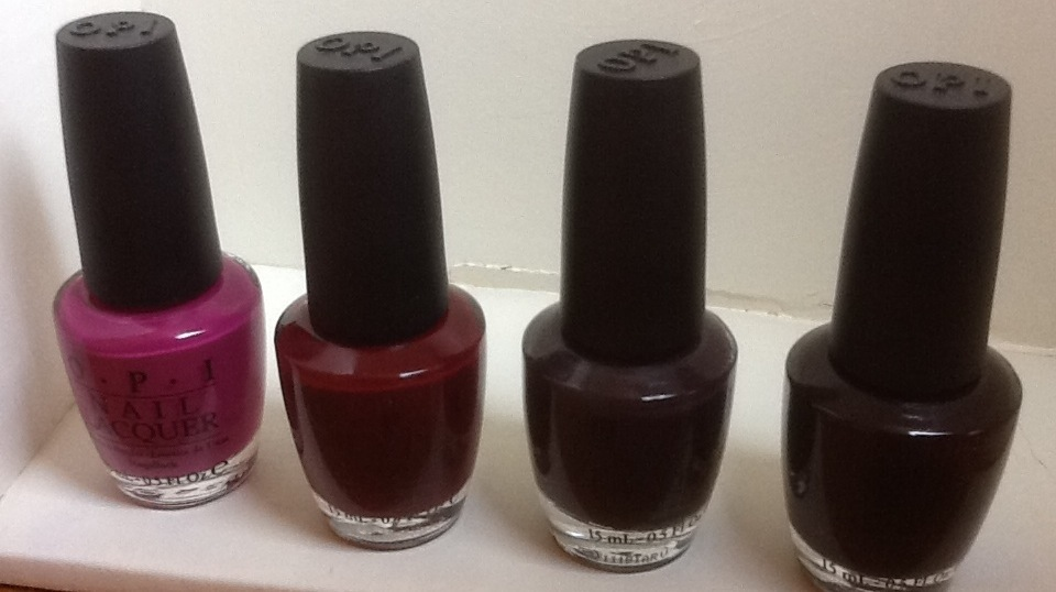 OPI discontinued dim sum plum | Middle Aged Beauty Queen