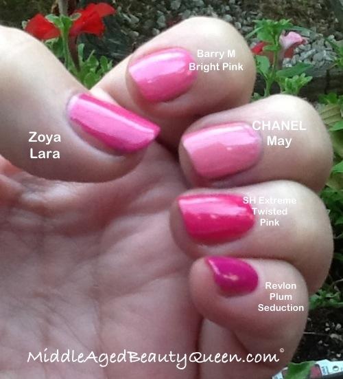 My Top 5 Pink Nail Polish For October